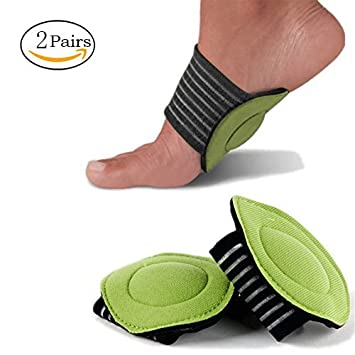 3c1b184bf8 4Pcs Plantar Fasciitis Arch Support, [2 Pairs] Arch Support Cushion Shock  Absorber All