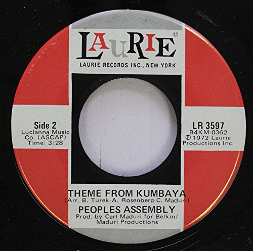 People Assembly 45 RPM Theme From Kumbaya / Kumbaya (Come Back Lord) (Rpm 45 People Records)