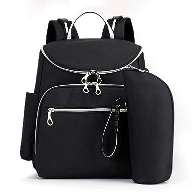 Amazon.com: Fashionhe - Mochila para pañales con USB de gran ...