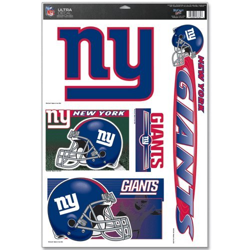 - New York Giants Ultra Decal 11x17