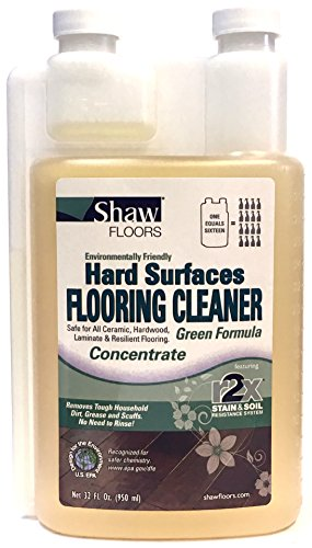 Shaw R2Xtra Green Hard Surfaces Flooring Cleaner Concentrate (Green Vinyl Flooring)