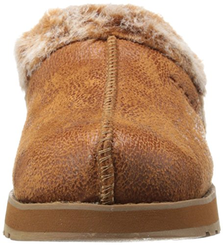 Skechers Keepsakes - Winter Wonder - Zapatillas de estar por casa de sintético para mujer marrón - Brown (Csnt)