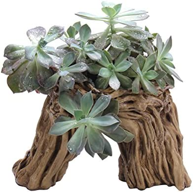 OUNONA Simulation Arbre Racine Plante Pot de jardin ...