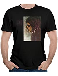 Mens Bob Dylan Blood On The Tracks Tshirt Black