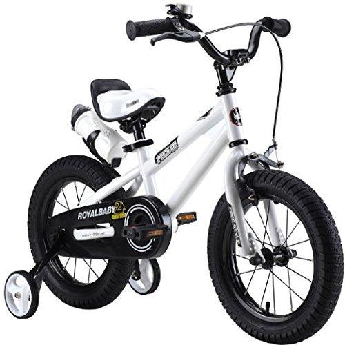 Royalbaby Kids Bikes 12 14 16 18 Available, Bmx Freestyle Bikes, Boys Bikes, Girls Bikes, Best Gifts for Kids. (white, 18 inch) by Royalbaby B010B2MHX4