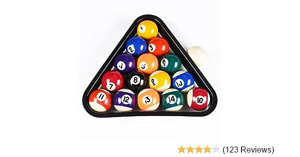 Amazoncom DAD IVE USA Mini Pool Balls Set Inch Billiard - How much is my pool table worth