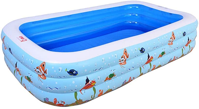 LYM & bañera Plegable Piscina al Aire Libre, Niños, Adultos ...