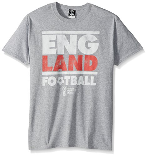 FIFA Men's Russia 2018 Stated Country Tees, Grey//England, Medium