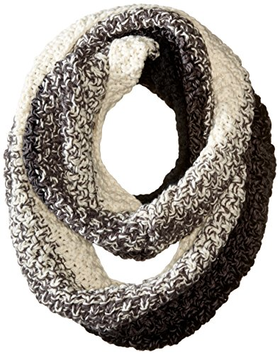 Michael Stars Women's Seeded Ombre Eternity Scarf, Black, One Size