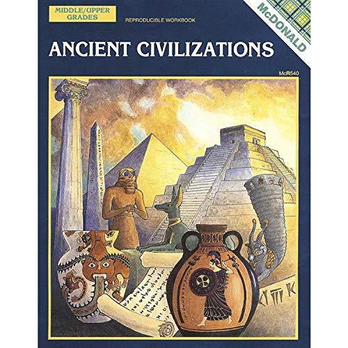 McDonald Publishing MC-R540 Ancient Civilizations Reproducible Book, 0.3