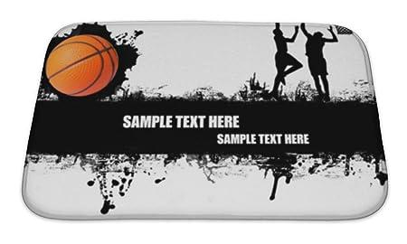 Gear nueva de espuma de memoria baño alfombra, baloncesto ...