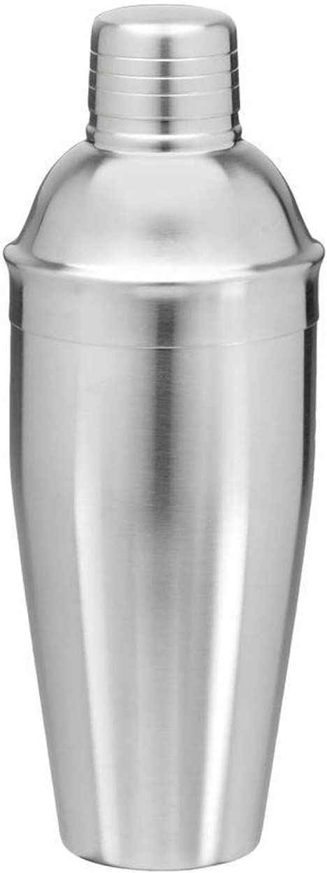 LVGADR Hammered Cocktail Shaker, Food Grade Stainless Steel Martini Shaker, 25oz(750ml) Professional Mixing Solid Martini & Beverage Shaker, Bar Tool With built-in strainer, Perfect Bartender Gift