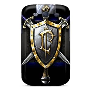 Galaxy S3 Cases Covers Skin : Premium High Quality World Of Warcraft Cases
