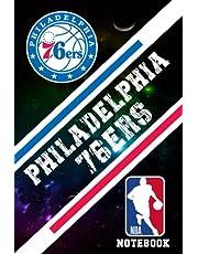 Philadelphia 76ers : Philadelphia 76ers Office Organize Notebook   NBA Notebook Fan Essential NFL , NBA , MLB , NHL , NCAA #76