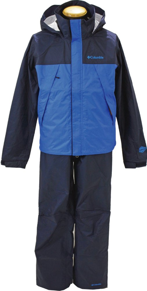 コロンビア(Columbia) シンプソンサンクチュアリレインスーツ(SIMPSON SANCTUARY RAINSUIT) PM0124 B06WRN1TJ9 M|425:Columbia Navy 425:Columbia Navy M