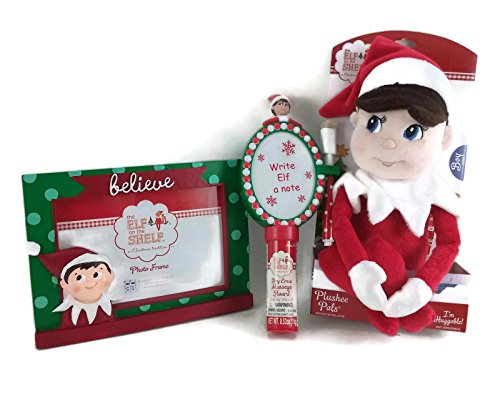 The Elf on the Shelf Making Memories Bundle: One Elf Plushee Pal Boy