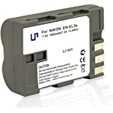 LP , Nikon EN-EL3e,Replacement Battery for Nikon D100, D200, D300, D300s, D50, D70, D70s, D700, D80 and D90 ( Gray )