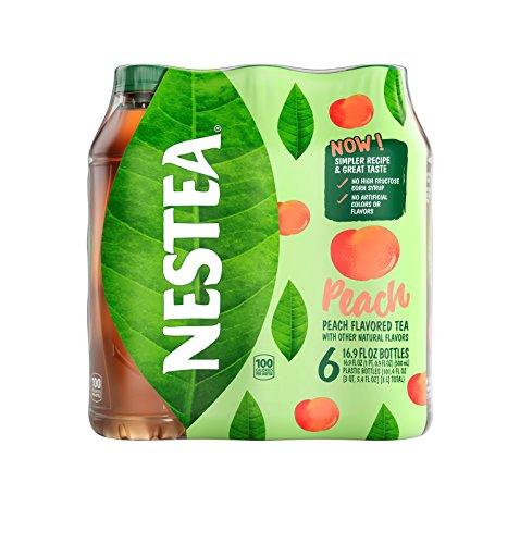 Nestea Iced Tea Peach, 6 pack, 16.9 Fl (Nestea Peach Tea)