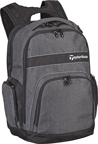 - TaylorMade Golf 2018 Mens Players Backpack Sports Bag / Gym Bag / Laptop Bag Charcoal/Black