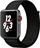 Cheap Apple Watch Series 3 Nike+ – GPS+Cellular – Space Gray Aluminum Case with Black/Pure Platinum Nike Sport Loop – 42mm