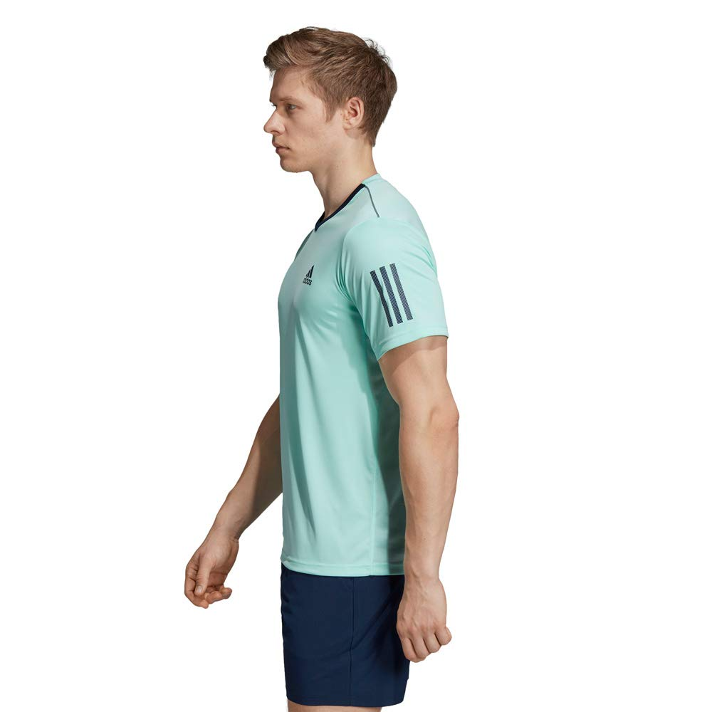 Hombre adidas Club 3str tee Camiseta de Tenis