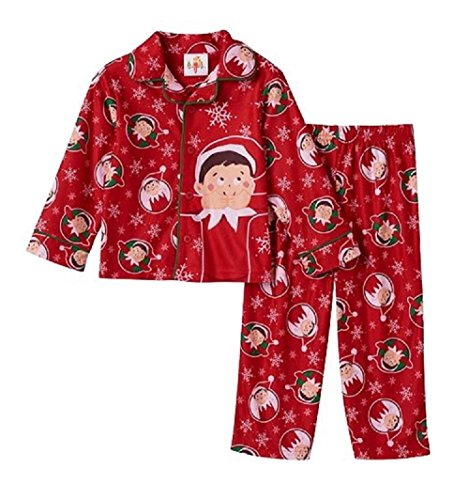 Toddler Boy The Elf on the Shelf Pajama Set