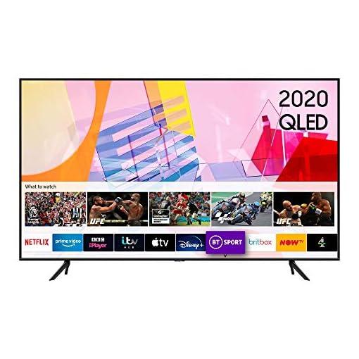Samsung 2020 55″ Q60T QLED 4K Quantum HDR Smart TV with Tizen OS
