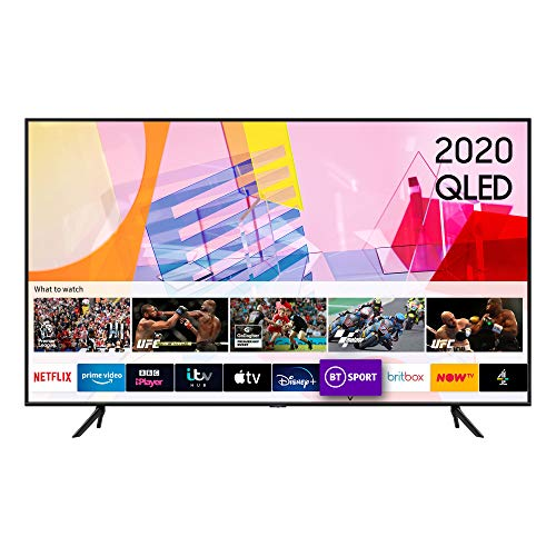 Samsung 2020 65″ Q60T QLED 4K Quantum HDR Smart TV with Tizen OS