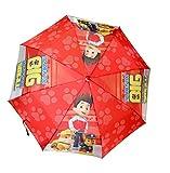 Children Compact Umbrella Official Paw Patrol Umbrella (RED)