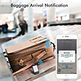 Luggage Tracker Device with App, Bluetooth Trackers Tag for Suitcase Baggage - Anti-Lost Smart Wireless Locator Tags Item Finder with Alarm