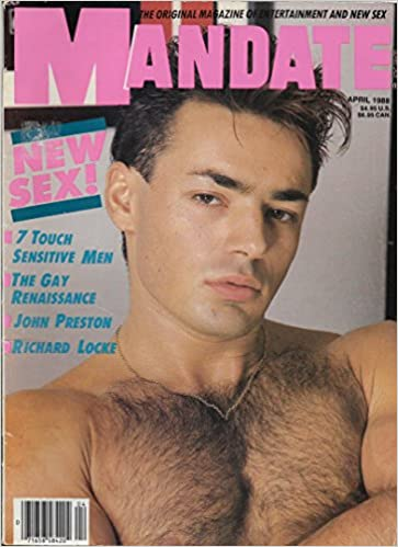 men Nude touch magazine in gay