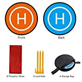 #10: Vivefox Universal Waterproof Drones Landing Pad, Portable Foldable Landing Pads For RC Drones Helicopter, Quadcopter, DJI Mavic Pro, Phantom 2/3/4/4 Pro, Inspire 2/1& More