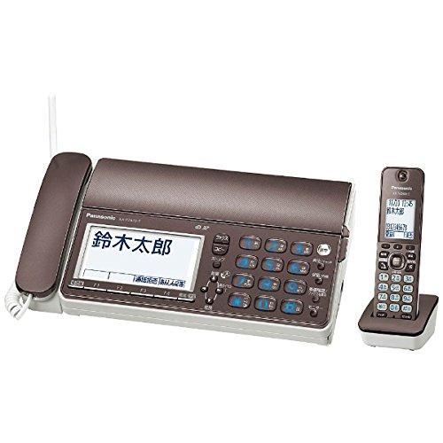 パナソニック デジタルコードレス普通紙ファクス 子機1台付き KX-PZ610DL-T (ブラウン) B072527MZB