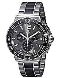 TAG Heuer Men's CAU1115.BA0869 Formula 1 Stainless Steel Ceramic Chronograph Watch