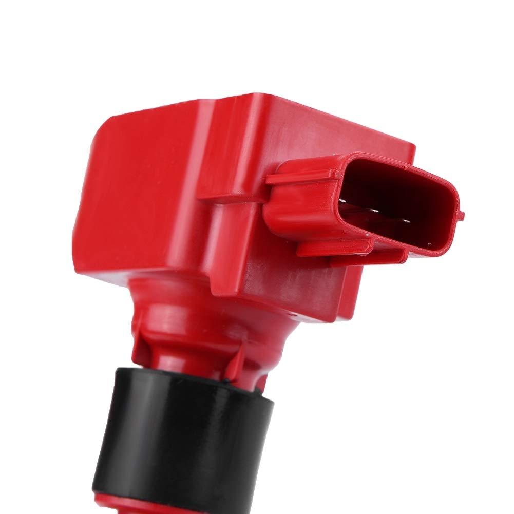 1 PC de la bobina de encendido del autom/óvil apta para piezas de autom/óvil Mazda RX-8 UF501 N3H1-18-100. Bobina de encendido