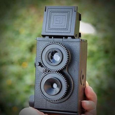 lujex DIY de cámara Lomo de cámara Lomo Recesky Twin Lens Reflex ...