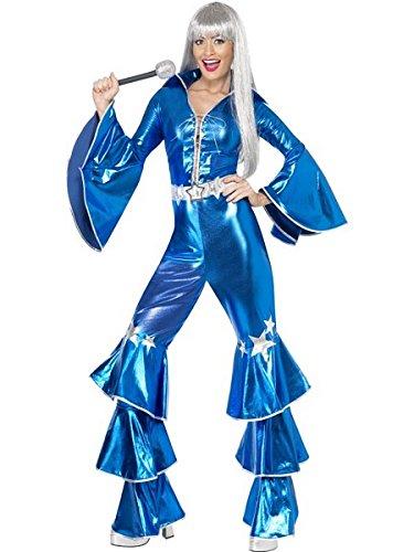 Smiffys 1970s Dancing Dream, Blue, Small ()