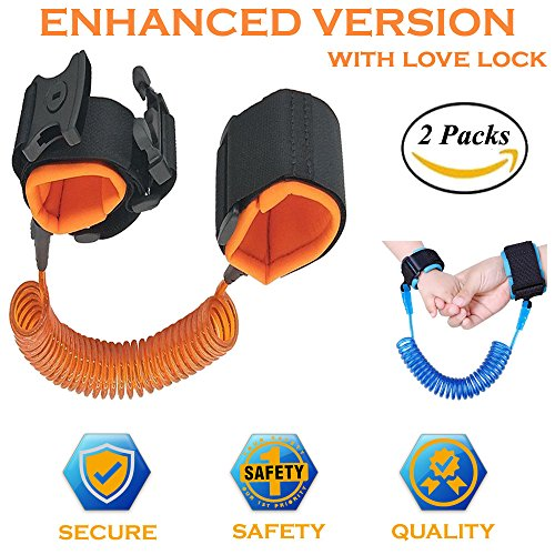 Anti Lost Wrist Link Toddler Leash Safety Harness enhanced secure version for Toddlers, Babies & Kids (2 - The On Stores Plaza