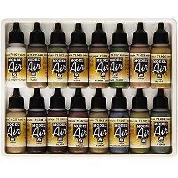 Vallejo WWII German/Allied 16 Color Paint Set