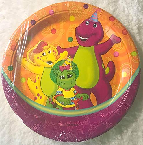Gallmark Barney Party Plates Lunch Birthday Baby Boop