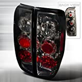 nismo nissan frontier - Spec-D Tuning LT-FRO05G-TM Nissan Frontier Le Se Xe Nismo Offroad Smoked Tail Lights