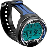 Cressi Leonardo Dive Computer Watch -Wrist (Black/Blue)