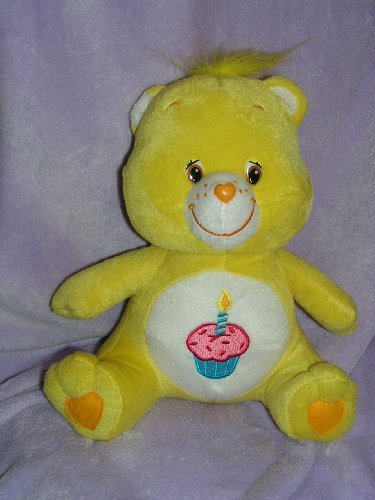 "Care Bears 11"" Plush Birthday Bear Doll"