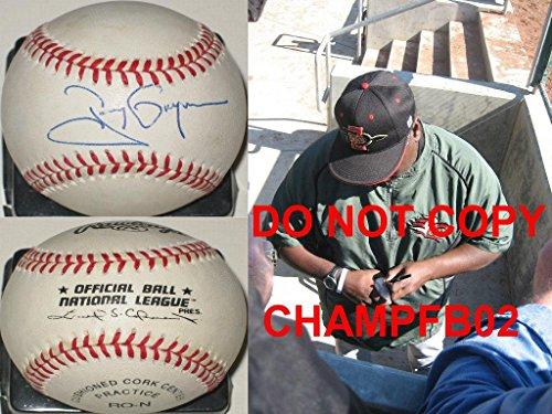 Tony Gwynn Autographed Baseball - hof nlb coa Proof - Autographed (Tony Gwynn Autographed Baseball)