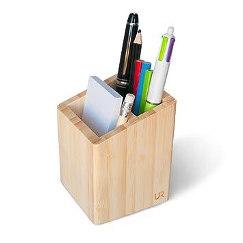 stylish pen pot holder for desk high quality smooth desk