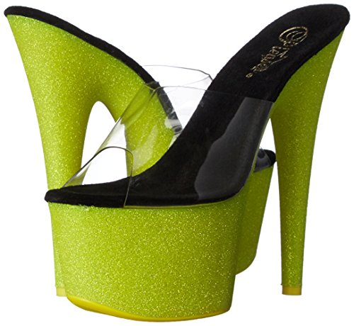Adore Donna neon Yellow 701uvg Sandali Clr Glitter Pleaser RdwnqtXBWR