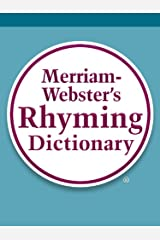 Merriam-Webster's Rhyming Dictionary Kindle Edition