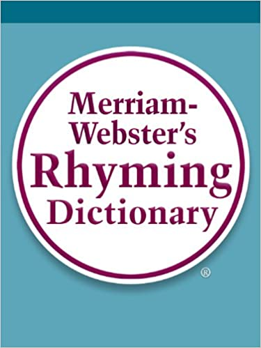 9b4757b4868 Merriam-Webster s Rhyming Dictionary - Kindle edition by Merriam ...