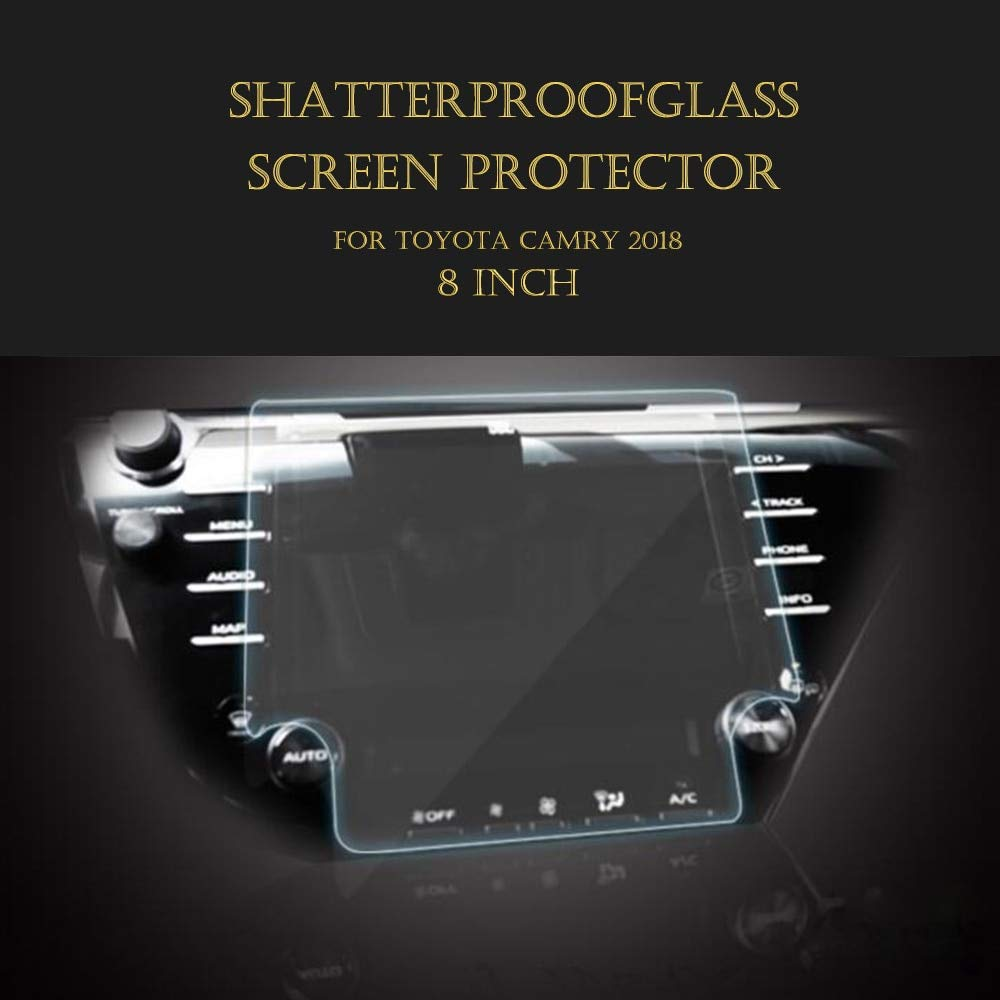 AjaxStore - 7 Inch 8 Inch Car Navigation Screen Glass Protector Guard Screen Protective For Toyota Camry by AjaxStore (Image #1)
