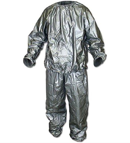 Rain and sauna suit - Conjunto térmico - para mujer Gris gris Large